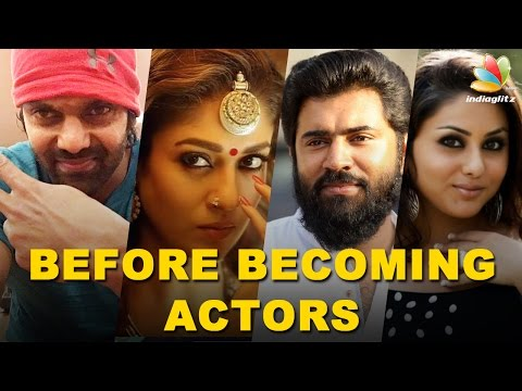 Xxx Mp4 Kollywood Celebrities Jobs Before Acting Anushka Nani Vishnu Vishal MORE Actors 3gp Sex