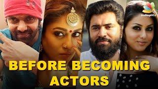 Kollywood Celebrities : Jobs before Acting | Anushka, Nani, Vishnu Vishal & MORE Actors!
