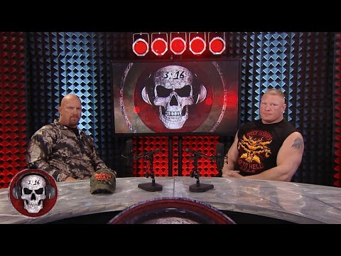 WWE Network Brock Lesnar explains not liking people on Stone Cold Podcast