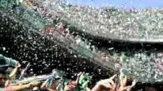 Stereo Love en el campo  del Real Betis Balompie