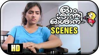 Om Shanti Oshana Movie Scenes HD | Nazriya talks about her college life | Nivin Pauly