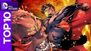Top 10 Superman Fights of All Time