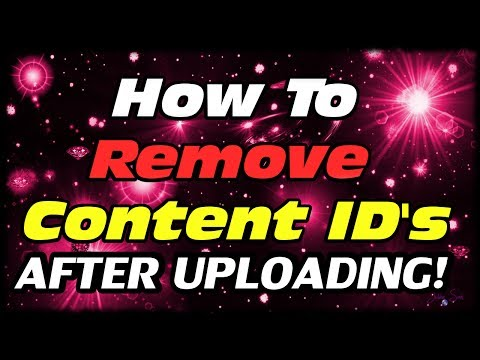 How To Remove Third Party Content ID Matches Songs From Videos After Uploading Without Disputing!