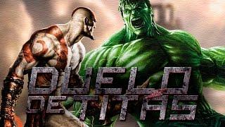 Kratos VS. Hulk | Duelo de Titãs