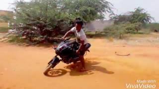 Thala real fan bike stand by Thiya velai seiyanum Kumaru