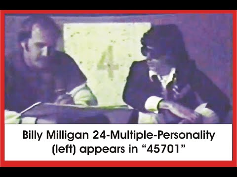 Billy Milligan Multiple Personality Footage | Guest Appearance - 45701 Athens OH