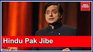 "Shashi Tharoor Defiant: ""BJP/RSS Hindu Rashtra Idea A Mirror Image Of Pakistan"""