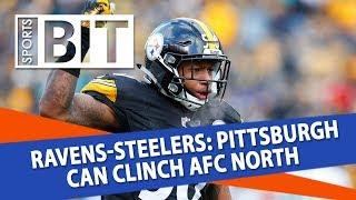 Baltimore Ravens at Pittsburgh Steelers | Sports BIT | NFL Picks