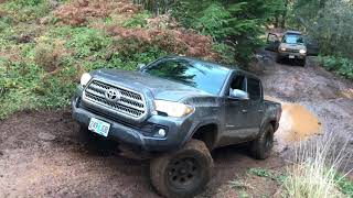 2016 Tacoma TRD Off-Road Crawl Control up Mud $100 level kit