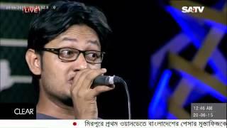 Desh Maatar Kachhe Chithi   SATV Live Studio Presents Shohortoli June 2015