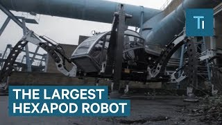 Meet Mantis: The 2 Ton, 6-Legged Walking Robot