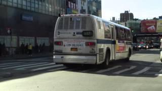 NYC Bus: Jamaica bound RTS-06 4927 Q17 at Main St/Roosevelt Av