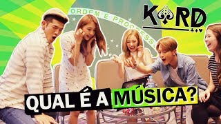 ÍDOLOS COREANOS CANTANDO EM PORTUGUÊS ft. K.A.R.D | Kpop idols singing in portuguese ft KARD