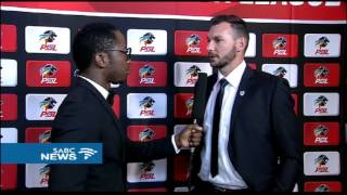 Catching up with guests at the 2016/2017 PSL Awards