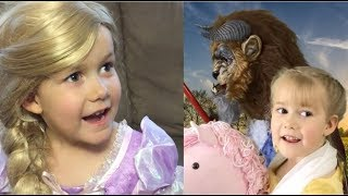 FAIRY TALE COMPILATION FOR KIDS #3!! RAPUNZEL AND BEAUTY AND THE BEAST BEST EVER & FUNNY!!