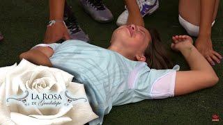 ¡Aurora se rompe la pierna!  | Sin barreras | La Rosa de Guadalupe
