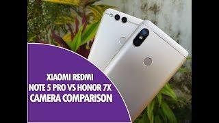 Xiaomi Redmi Note 5 Pro vs Honor 7X Camera Comparison