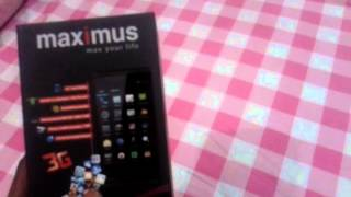 Maximus max908 unboxing and review