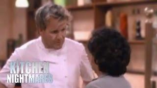 Gordon Argues with Awkward Customer - Kitchen Nightmares