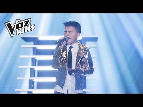 Juanse canta ¿Cómo Mirarte La Voz Kids Colombia 2018