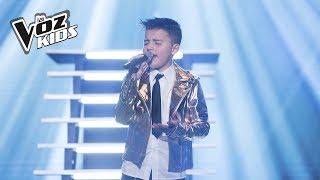 Juanse canta ¿Cómo Mirarte?   La Voz Kids Colombia 2018
