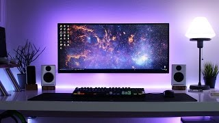 Clean & Minimal Desk Setup! Cable Management Goals |Setup Deluxe #3|