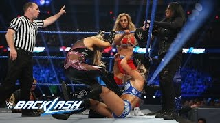Six-Woman Tag Team Match: WWE Backlash 2017 (WWE Network Exclusive)