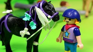 Konie - Playmobil - bajka po polsku