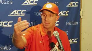 Dabo Swinney Syracuse postgame press conference