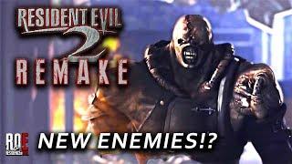 RESIDENT EVIL 2: REMAKE   NEW ENEMIES!?
