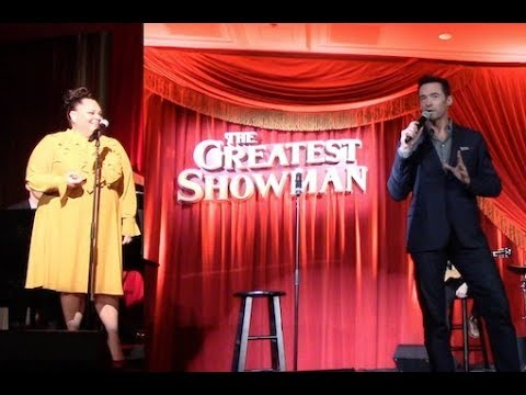 Hugh Jackman and Keala Settle At 'THE GREATEST SHOWMAN' Special Event   Listening Party