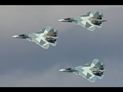 New Russian Fifth-Generation Stealth Fighter Sukhoi