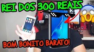 REI dos celulares de 300 reais, Xiaomi Redmi 4A, bom bonito barato! UNBOXING