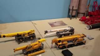 Unboxing 4 cranes! Demag ac250, lrt1100, ltc1045, and grt8100