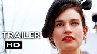 The Guernsey Literary and Potato Peel Society Official Trailer #1 (2018) Lily James Drama Movie HD