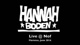 HannaHBodeN live @ NoF
