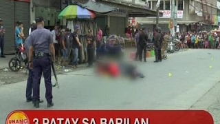 UB: 3 patay sa barilan sa Cagayan De Oro City