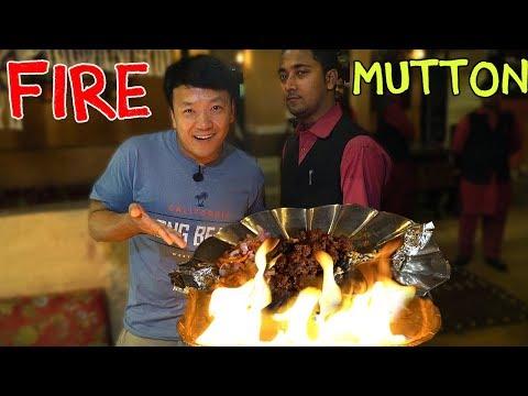 Xxx Mp4 AMAZING FIRE Mutton BBQ Kolkata DESSERTS 3gp Sex
