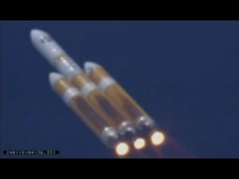 Launch of Worlds Largest Rocket The Delta IV Heavy with NROL 65 Onboard