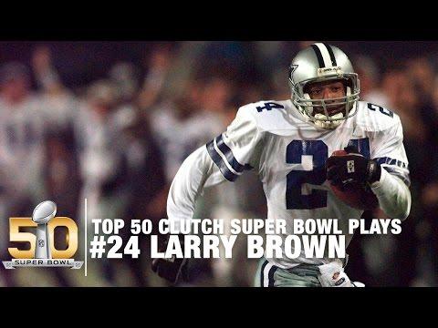 Xxx Mp4 24 Larry Brown S 33 Yard Pick Six Super Bowl XXX Top 50 Clutch Super Bowl Plays 3gp Sex