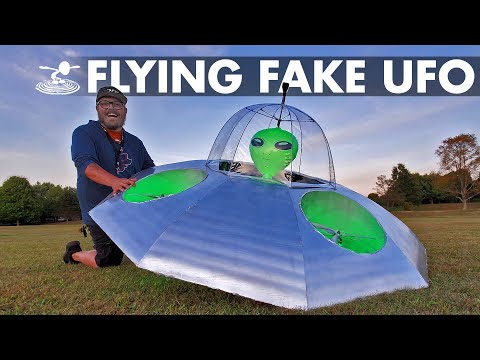 Faking a UFO Sighting 🛸 How hard is it Area 51�