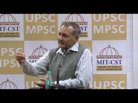 Shri. D. P. Agrawal, ex Chairman UPSC
