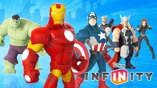 LES AVENGERS Super Héros Marvel Jeux Vidéo de Dessin Animé en Français - Disney Infinity 3.0
