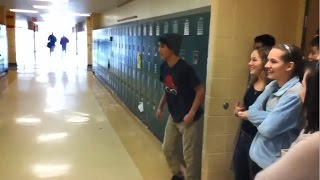 kid tries to impress girls, goes very wrong