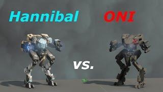 Halo 5 | Hannibal Mantis vs ONI Mantis