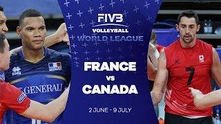 France v Canada highlights - FIVB World League