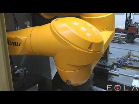 Integrace robotů do obraběcích center