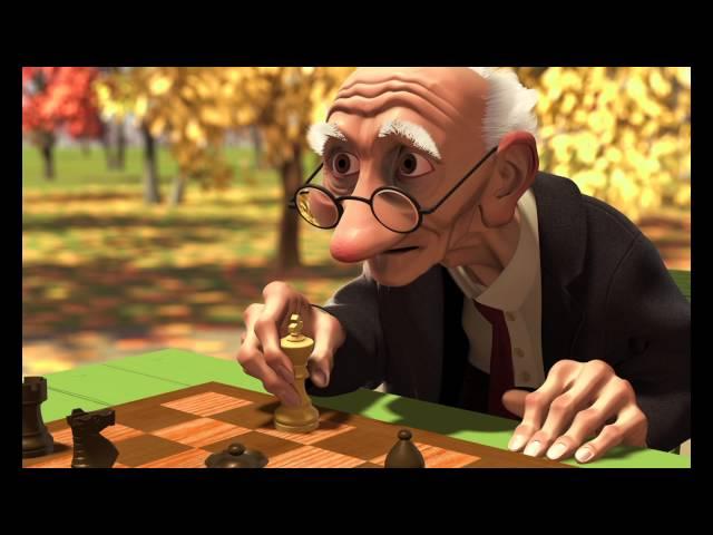 Pixar - Geri's Game [ORIGINAL AUDIO]