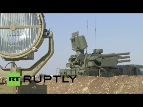 Syria: Russia's S-400 missile system flexes