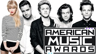 Artist Of The Year: Taylor Swift Vs. One Direction + More! (AMAs Preview)